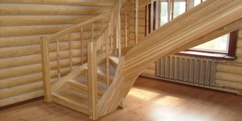 Ограждение лестниц для загородного дома своими руками